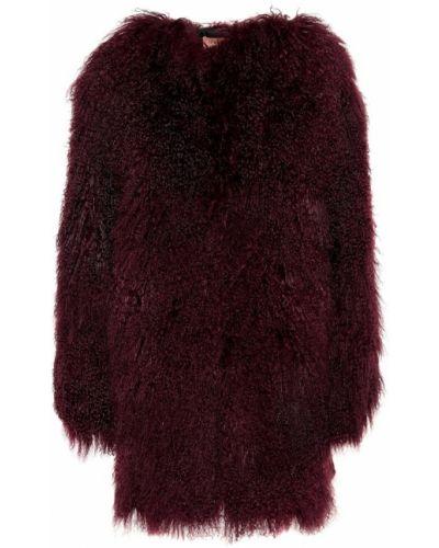 Фиолетовое пальто Yves Salomon Meteo