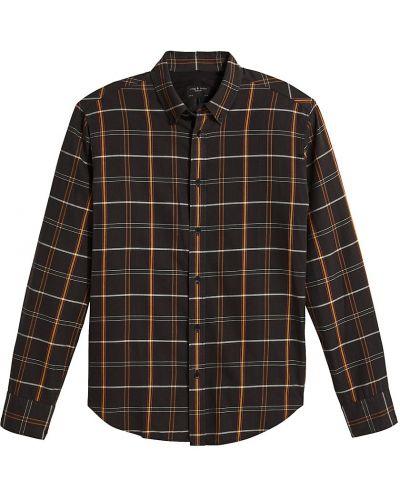 Koszula w kratę - czarna Rag & Bone