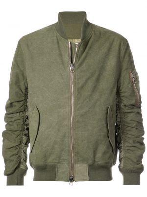 Klasyczna zielona kurtka bawełniana Readymade