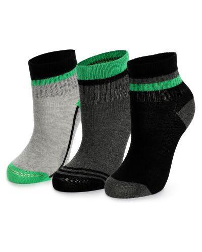 Серые хлопковые детские носки Demix