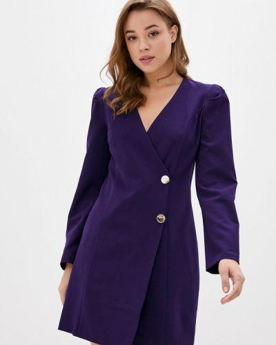 Фиолетовое прямое платье Jimmy Sanders