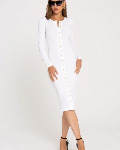Платье - белое Gold Chic Chili
