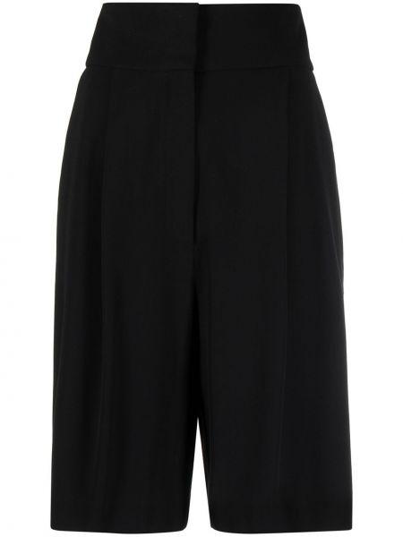 Свободные черные шорты свободного кроя Fabiana Filippi