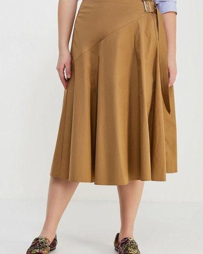 Желтая юбка Violeta By Mango
