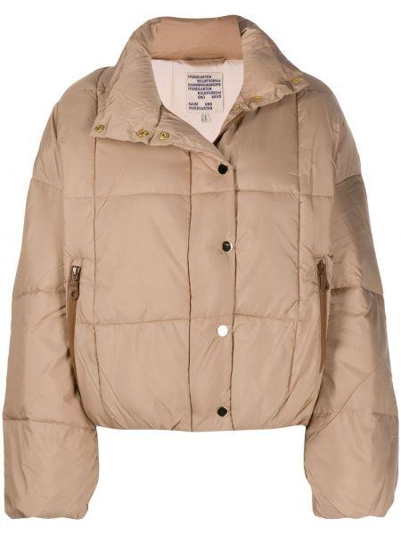 Длинная куртка с воротником с карманами с длинными рукавами Baum Und Pferdgarten