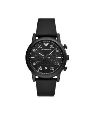 Zegarek czarny Emporio Armani