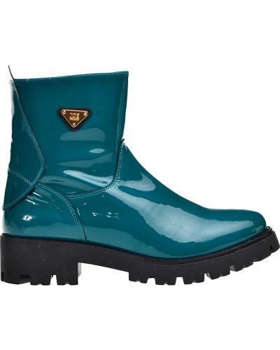 Ботинки на платформе кожаные осенние Iceberg