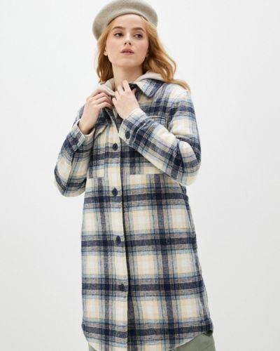 Синее пальто Jacqueline De Yong