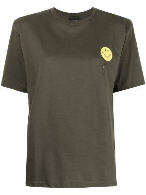 Czarna koszulka krótki rękaw Joshua Sanders