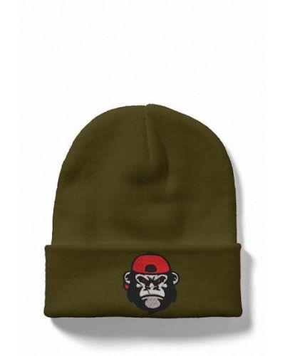 Зеленая шапка Headway