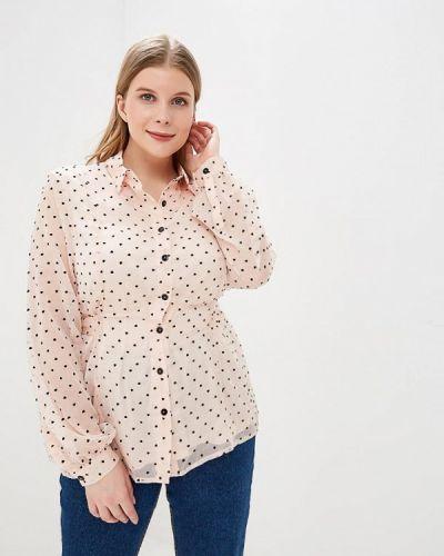 Розовая блузка Lost Ink Plus