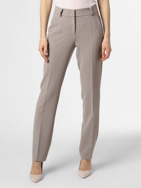 Beżowy spodni klasyczne spodnie Cambio