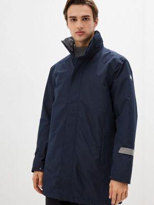 Синяя утепленная куртка Helly Hansen