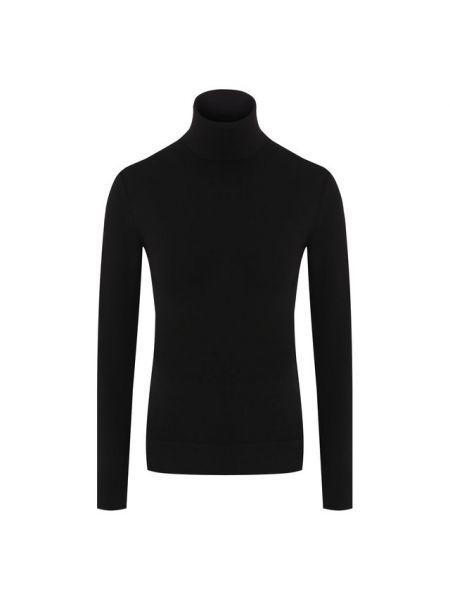 Водолазка черная из вискозы Dolce & Gabbana