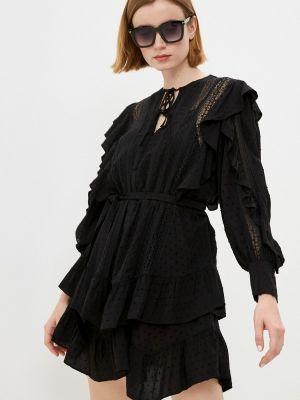 Платье - черное The Kooples