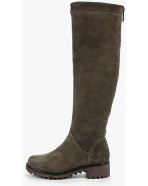 Ботинки на каблуке осенние велюровые Nexpero