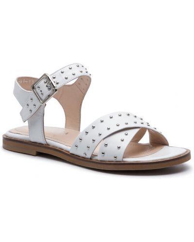 Sandały - białe Badura