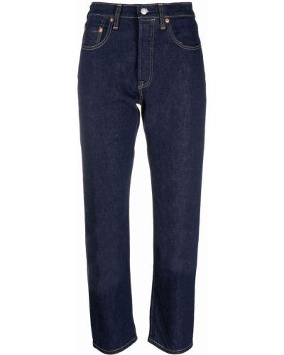 Укороченные джинсы - синие Levi's®  Made & Crafted™