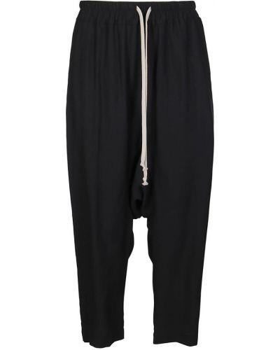 Czarne spodnie Rick Owens