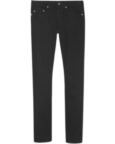 Klasyczne mom jeans - czarne Saint Laurent