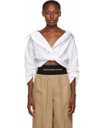 Biała koszula bawełniana - biała Alexander Wang