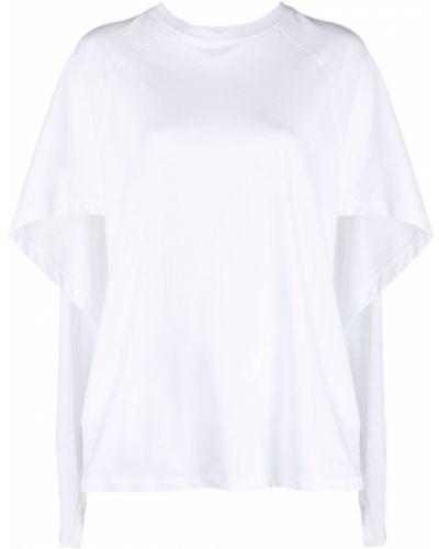 Biały t-shirt bawełniany Valentino