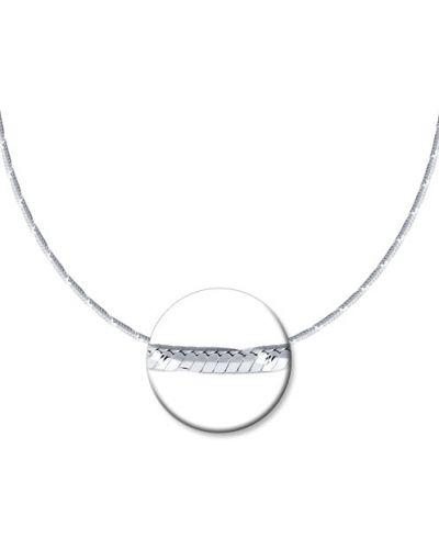 Цепочка из серебра с подвесками серебряный Sokolov