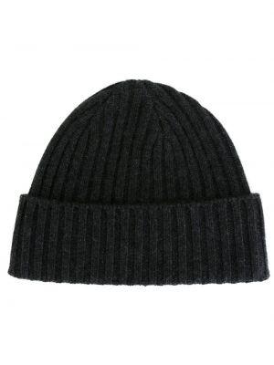 Серая кашемировая шапка N.peal