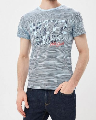 Голубая футболка Mezaguz