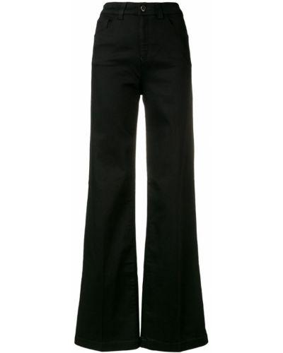 Свободные брюки палаццо с карманами Emporio Armani