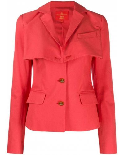 Розовая куртка с манжетами Vivienne Westwood Pre-owned