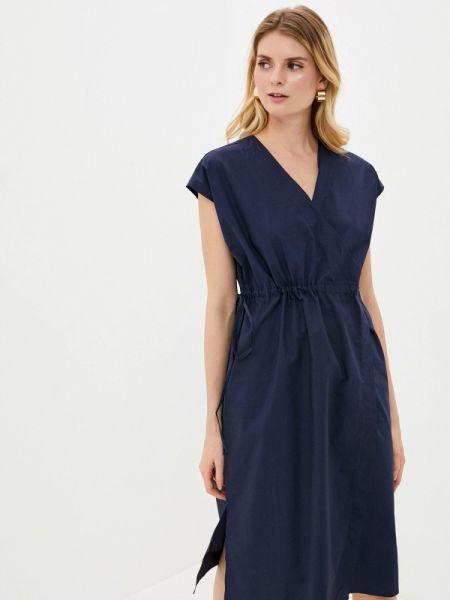 Синее платье снежная королева