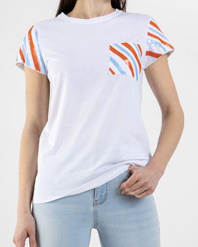 Белая футболка Sfizio