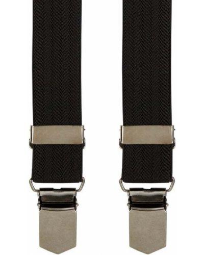 Czarne szelki bawełniane Lloyd Men's Belts