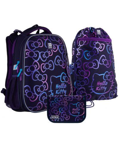 Текстильный черный школьный рюкзак спортивный Rozetka