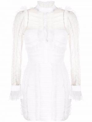 Платье макси длинное - белое Elisabetta Franchi