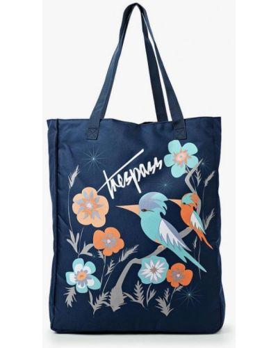 Синяя сумка текстильная Trespass