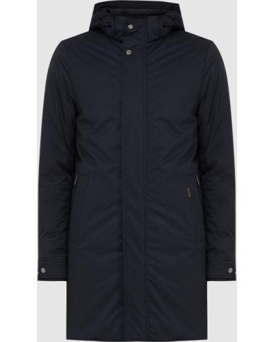 Пуховая куртка - синяя Moorer