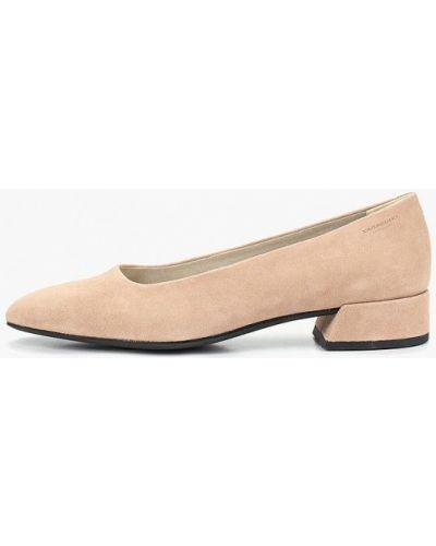 Туфли на каблуке замшевые на каблуке Vagabond