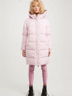 Хлопковый пуховик - розовый Zoe Karssen