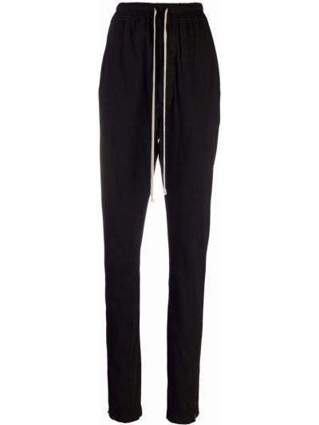 Черные хлопковые брюки Rick Owens Drkshdw