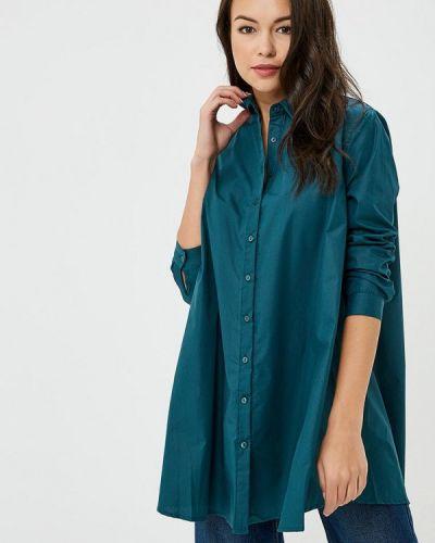 Зеленая блузка с длинным рукавом Sweewe