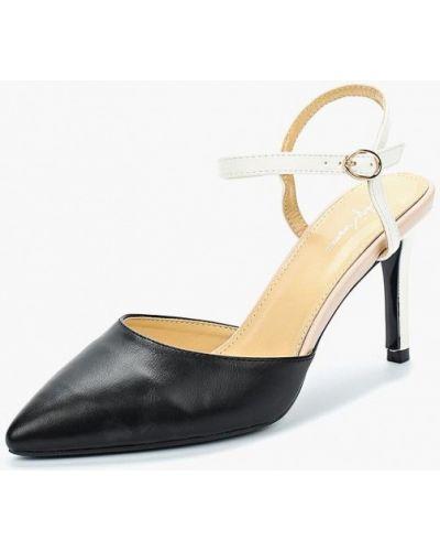 Черные туфли с открытой пяткой Sergio Todzi