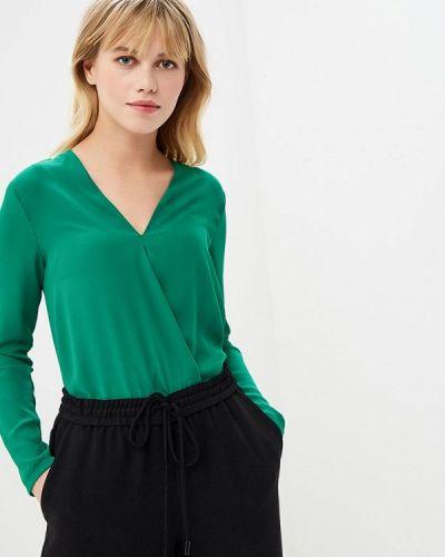 Зеленое боди блуза Zuiki