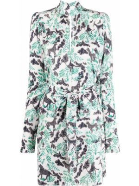 Платье мини с рукавами длинное Saloni
