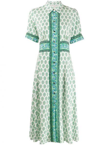 Платье мини миди на пуговицах Sandro Paris