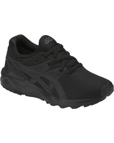 Текстильные черные кроссовки с подкладкой Asics