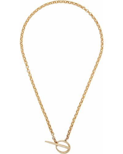 Złoty naszyjnik łańcuch Faris