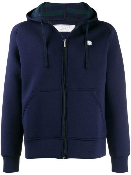 Прямая синяя куртка Société Anonyme
