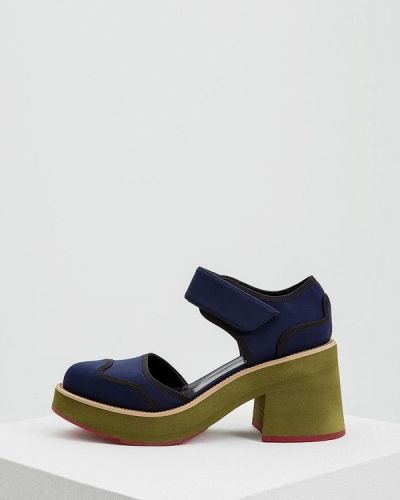 Туфли на каблуке с открытыми боками Marni